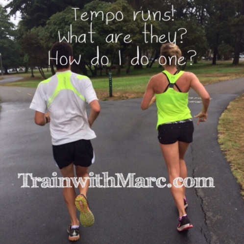 Tempo running explained