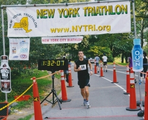 Jim @ the NY Triathlon