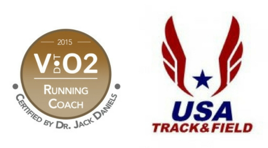 Dr. Jack Daniels VDOT & USATF Certified Running Coach