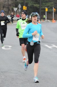 Mallory in the Reston 10 Miler. All rights reserved by Potomac River Running
