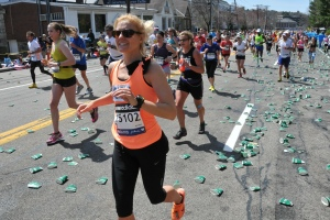 Carly at Mile 16