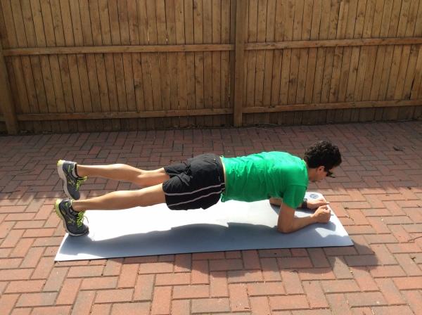 Prone Stabilizer - Core Exercise # 2
