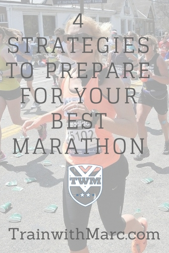 Preparing for your best marathon