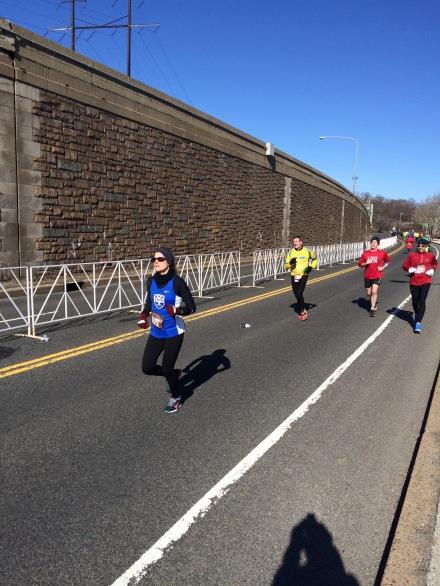 Carly in the Love Run sporting TWM.