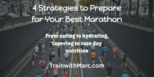 Preparing for your Best Marathon