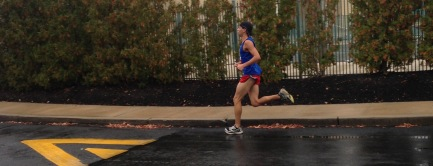 Finishing my 5k for a win