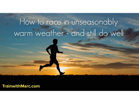 racing in warm weather