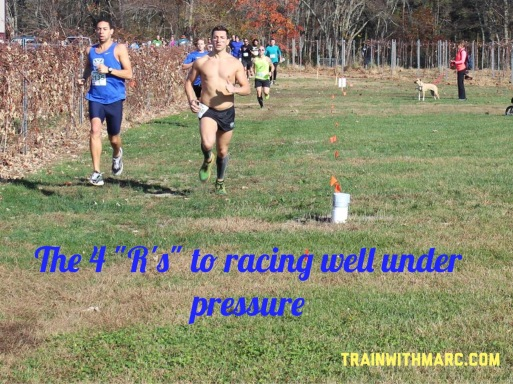 "4 ""R's"" to racing under pressure"