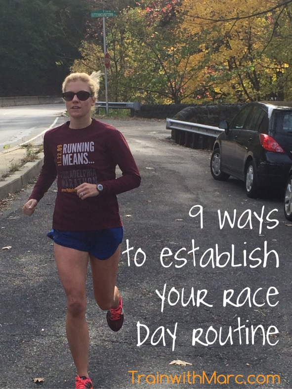 Establishing Race Day Routines