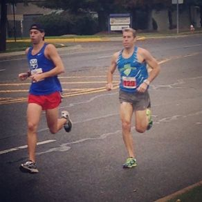 Marc & Dave in a 5k