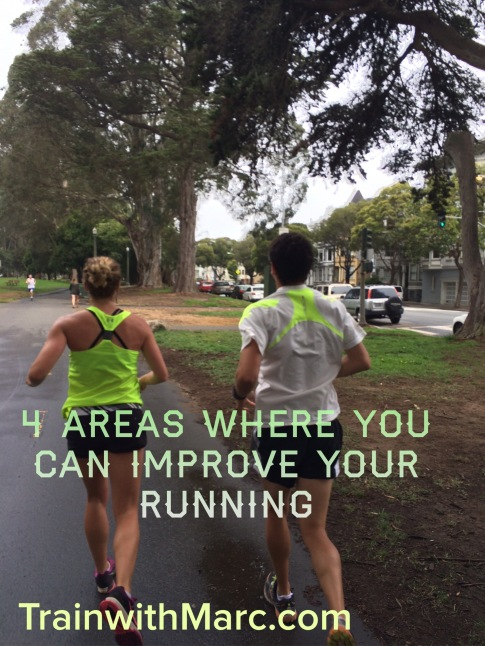 4 areas where you can improve your running