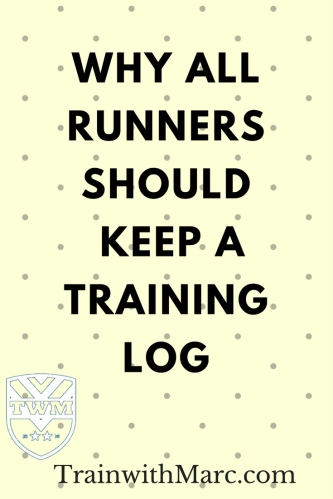 Importance of keeping a training log