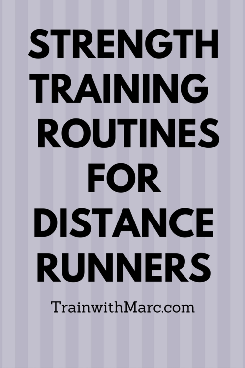 Strength training for distance runners