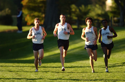 Villanova racing 4 miler @ Haverford College