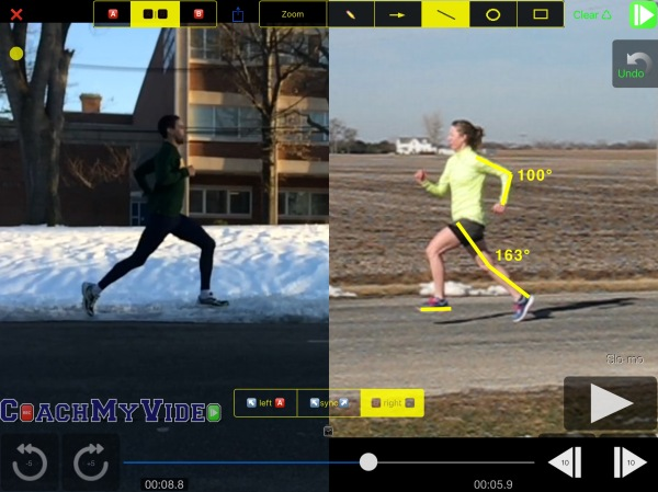 Comparing Running Form