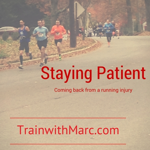 Staying Patient while Injured