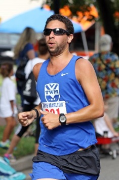 Coach Marc in 4th of July Race
