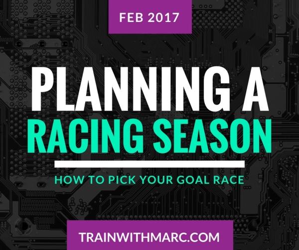 Planning a Racing Season