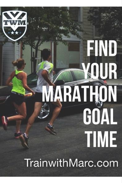 Use races & training to predict marathon time