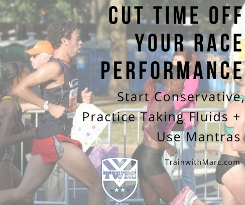 Save time during your race with practice