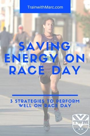 Saving Energy on Race Day
