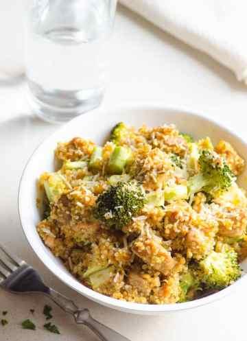 1 pot broccoli and chicken quinoa recipe