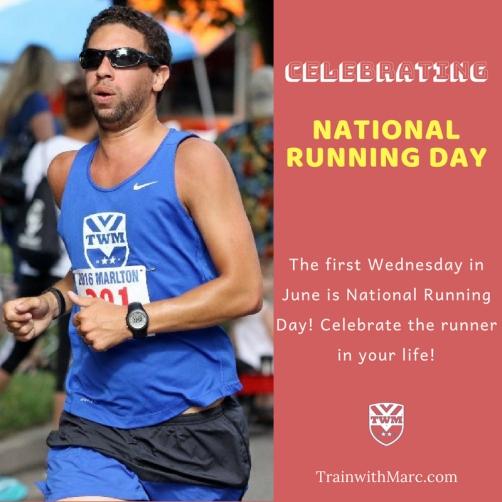 Celebrating National Running Day