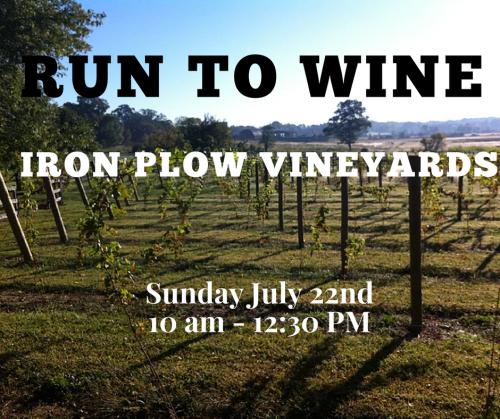 Running & Wine