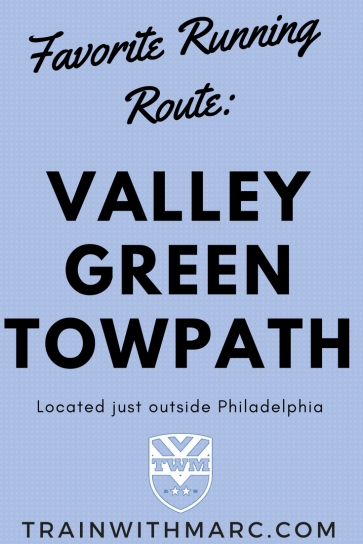 Marc's Favorite Running Route is Valley Green