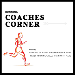 Running Coaches Corner