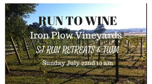 Run to Wine - Jully 22nd, 10 am
