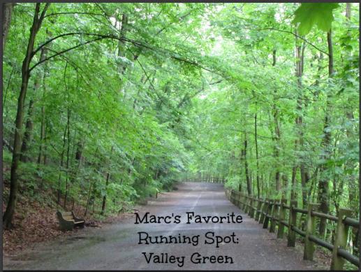 Marc's Favorite Running Spot: Valley Green