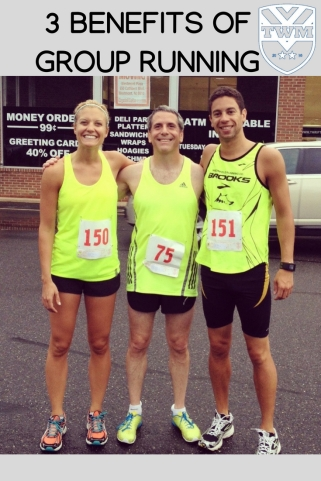 The 3 benefits of running with a group: Motivation, Experience, & Social Facilitation