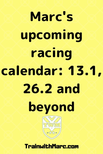 TrainwithMarc's 2018 & 2019 races