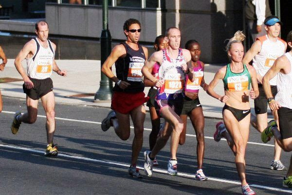 Running with a pack can help you reach new PRs.