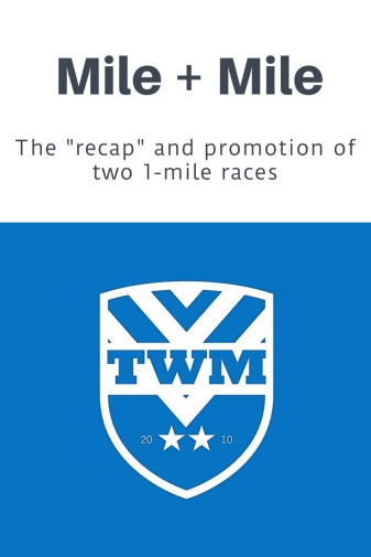 Recapping the Murph Mile + Promoting the Pop Up Mile