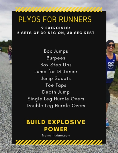 Plyo Routine for Distance Runners