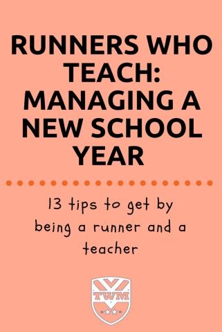 Teachers who Run