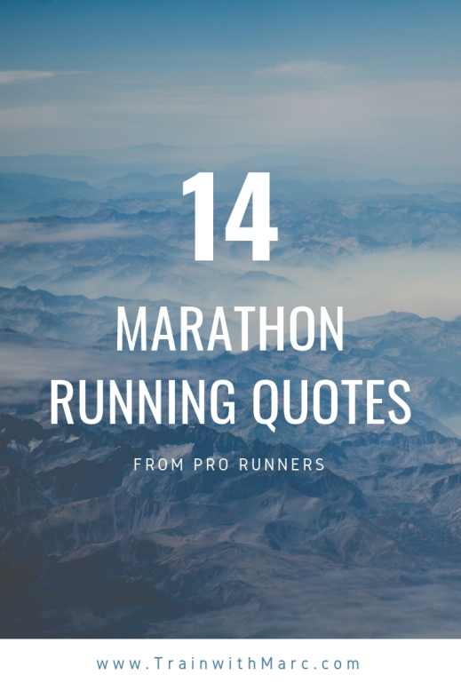 14 marathon running quotes from professional runners