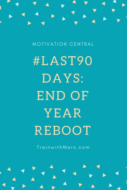 90 days left to reach your yearly goals!