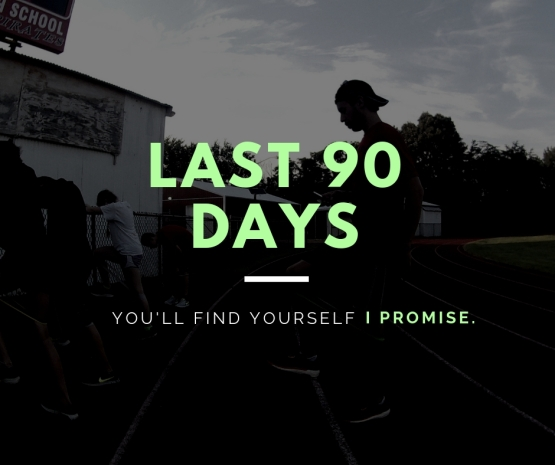 Goals and progress toward my last 90 days of the year