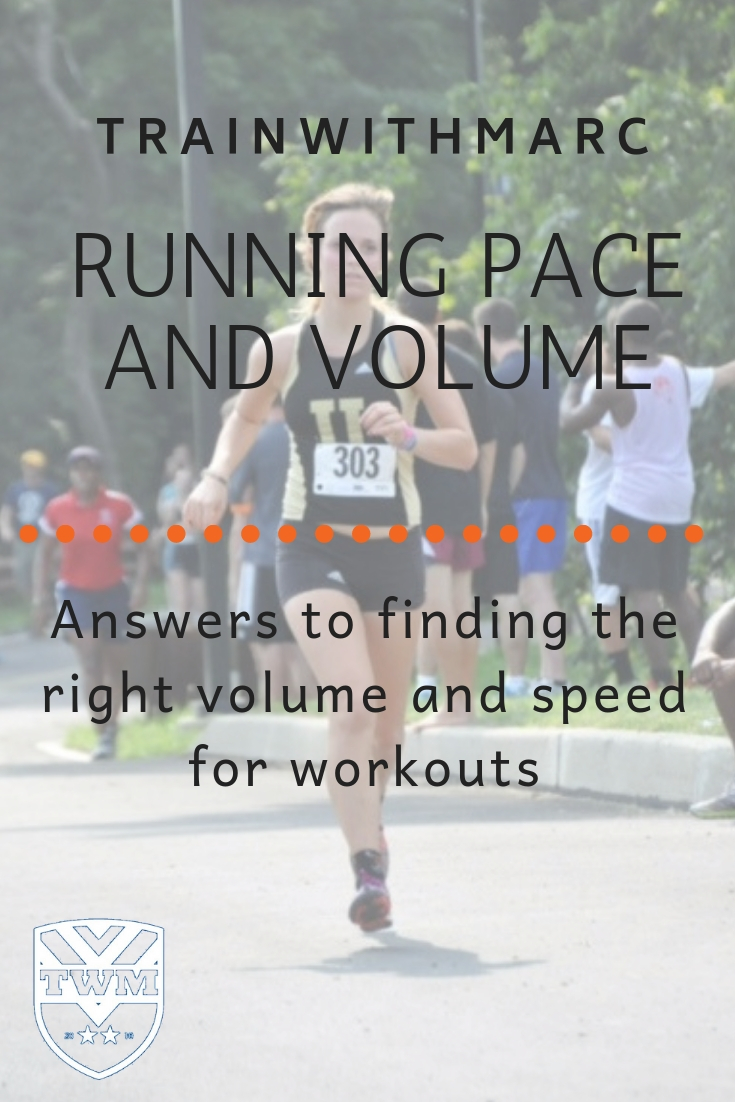 Running Paces & Distances