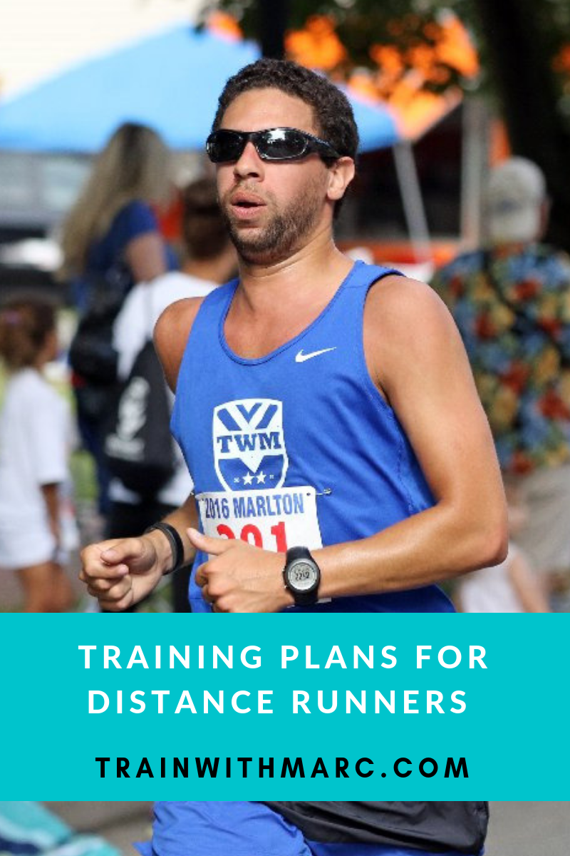 Training Plans for Distance Runners