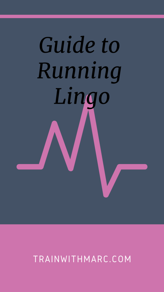 Running Terms and Their Definitions