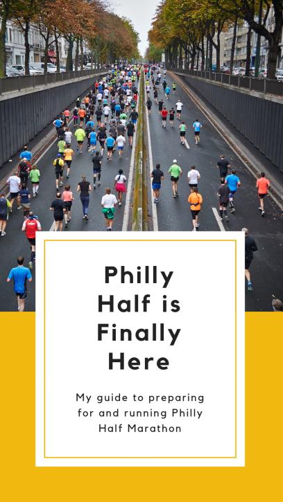Philadelphia Half Marathon Checklist