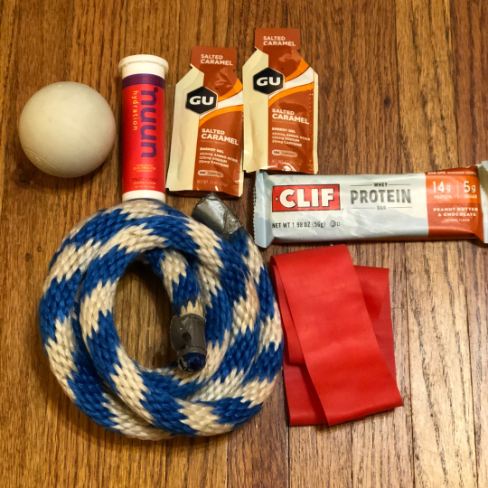 Nutrition and Recovery Tool for Runners