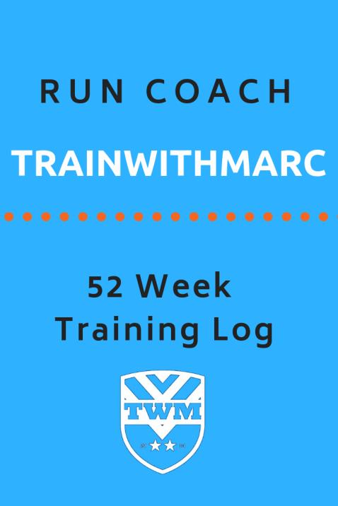 Runner's Training Log included in Runner's Box