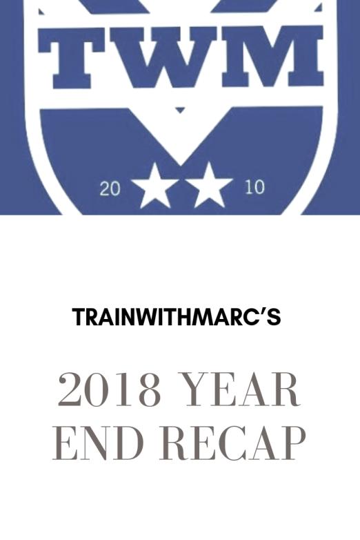 2018 End of Year Recap