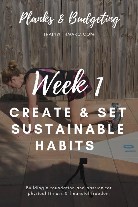 Creating & Setting Sustainable Habits