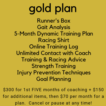 Gold Training Plan
